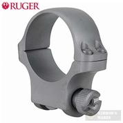Ruger 30mm Medium Scope Ring (1) w/ Hawkeye Finish 90318