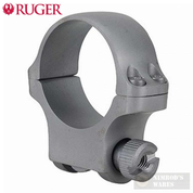 Ruger 30mm Medium Scope Ring (1) w/ Hawkeye Finish 90318