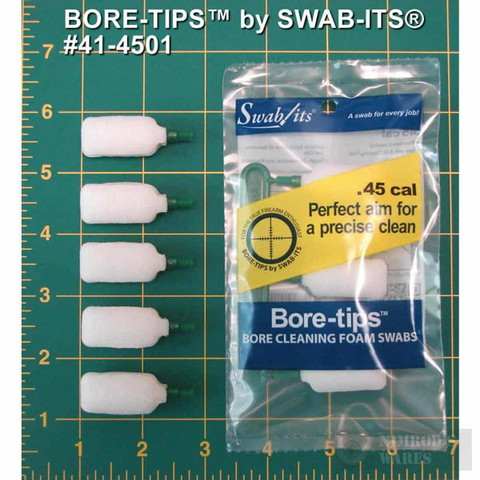Swab-Its BORE TIP .45 CAL 5 PK 41-4501