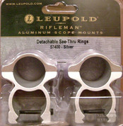 "Leupold 57400 Rifleman Detachble See-Thru 1"" HIGH Scope Rings"
