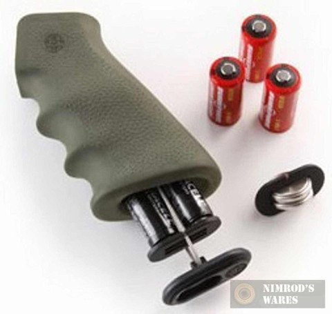 Hogue 74011 NEW 5.45/7.62 Rifle OverMolded Grip + Storage OD Green
