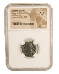 Roman AE of Jovian (363-364) NGC (AU)