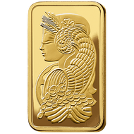 10 oz PAMP Suisse Fortuna Veriscan Gold Bar (New w/ Assay)