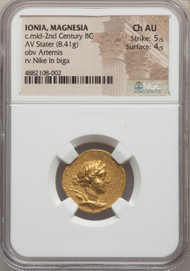 C.mid-2nd Century BC Ionian Stater  NGC AU 5/5 4/5
