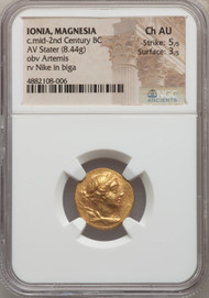 C.mid-2nd Century BC Ionian Stater  NGC CHAU 5/5 3/5