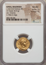 C.mid-2nd Century BC Ionian Stater  NGC CHAU 5/5 4/5