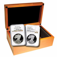 1986-2017 Complete Silver Eagle Set NGC PF70 UCAM
