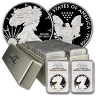 1986-2019 Complete Silver Eagle Set NGC PF69 UCAM