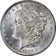1883-O Morgan Silver Dollar Brilliant Uncirculated - BU (New Orleans)
