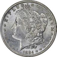 1884-O Morgan Silver Dollar Brilliant Uncirculated - BU