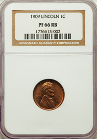 1914-D 1c Lincoln Cent NGC PF66RB