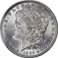 1885-O Morgan Silver Dollar Brilliant Uncirculated - BU