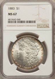 1883 S$1 Morgan Dollar NGC MS67 - 512005059