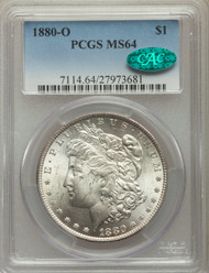 1880-O S$1 Morgan Dollar PCGS MS64 CAC