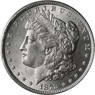 1878-P Morgan Silver Dollar BU Reverse of '79