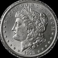 1878-CC Morgan Silver Dollar Brilliant Uncirculated - BU