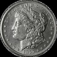 1879-S Morgan Silver Dollar Brilliant Uncirculated - BU Reverse of '78