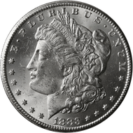 1883-CC Morgan Silver Dollar Brilliant Uncirculated - BU