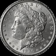 1886-P Morgan Silver Dollar Brilliant Uncirculated - BU