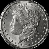 1890-CC Morgan Silver Dollar Brilliant Uncirculated - BU