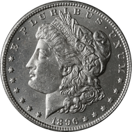 1896-O Morgan Silver Dollar Brilliant Uncirculated - BU