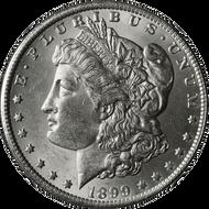 1899-S Morgan Silver Dollar Brilliant Uncirculated - BU