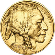1 oz American Gold Buffalo (Random Year, BU)