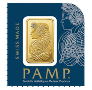 1 gram Gold Bar PAMP Suisse Lady Fortuna .9995 Fine (In Assay from Multigram+25)