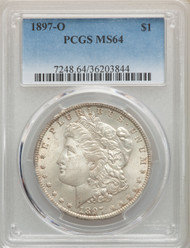 1897-O S$1 Morgan Dollar PCGS MS64