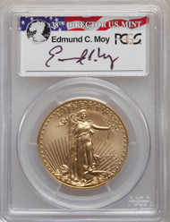 2015-W $50 Burnished Gold Eagle PCGS SP70 First Day Of Issue - Denver