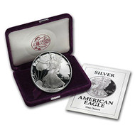 1992-S American Silver Eagle Proof (OGP & Papers)