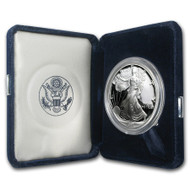 1995-P American Silver Eagle Proof (OGP & Papers)