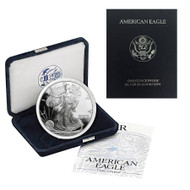 1996-P American Silver Eagle Proof (OGP & Papers)