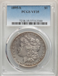 1895-S S$1 Morgan Dollar PCGS VF35