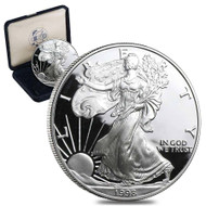 1998-P American Silver Eagle Proof (OGP & Papers)