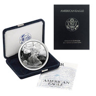 2000-P American Silver Eagle Proof (OGP & Papers)