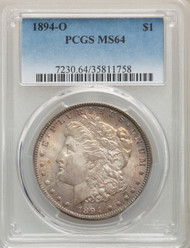 1894-O S$1 Morgan Dollar PCGS MS64 - 740237031