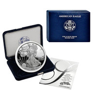 2008-W American Silver Eagle Proof (OGP & Papers)
