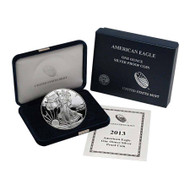 2013-W American Silver Eagle Proof (OGP & Papers)