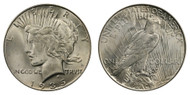 1935-S Peace Dollar Brilliant Uncirculated - BU