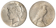 1934-S Peace Dollar Brilliant Uncirculated - BU