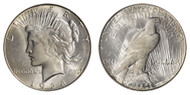 1928-S Peace Dollar Brilliant Uncirculated - BU