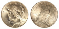 1928-P Peace Dollar Brilliant Uncirculated - BU