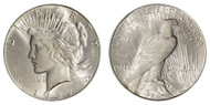 1927-S Peace Dollar Brilliant Uncirculated - BU