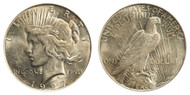 1927-D Peace Dollar Brilliant Uncirculated - BU