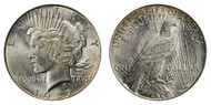 1922-D Peace Dollar Brilliant Uncirculated - BU