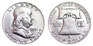 1951-P Franklin Half Dollar Brilliant Uncirculated- BU