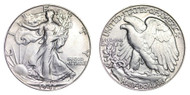 1947-D Walking Liberty Half Dollar Brilliant Uncirculated - BU