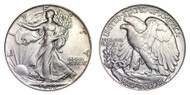 1946-P Walking Liberty Half Dollar Brilliant Uncirculated - BU