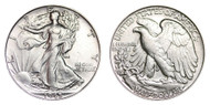 1945-S Walking Liberty Half Dollar Brilliant Uncirculated - BU